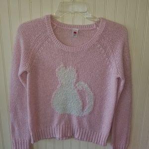 Total Girl Cat Sweater